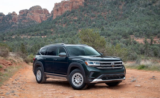 2021 Volkswagen Atlas Basecamp Accessories Add a Touch of Overlanding