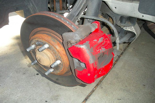 When it comes to painting your calipers, you can't just use any paint. You need special caliper paint.