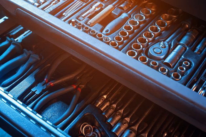 A basic set of hand tools should be step 1 in putting together your DIY auto repair toolbox.