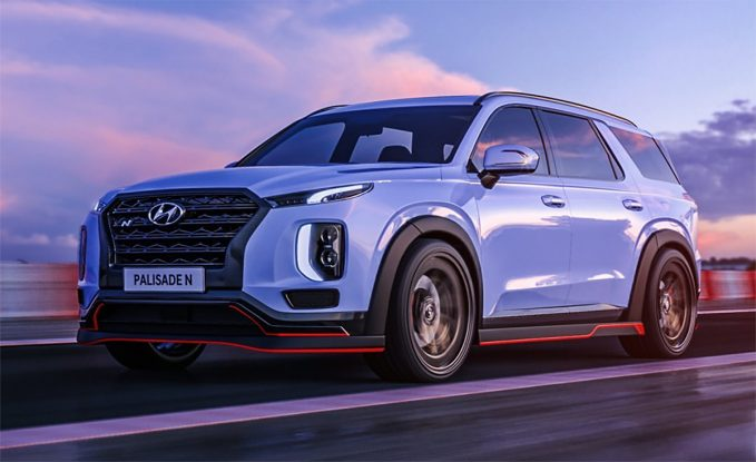 Hyundai Teases Us With N Versions of Palisade, Nexo and Prophecy