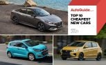 Top 10 Cheapest New Cars to Buy