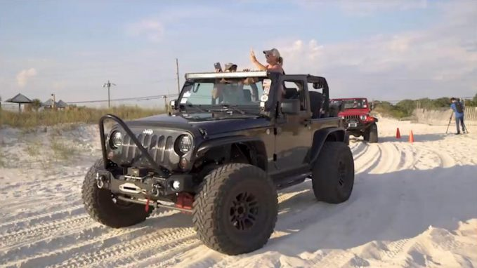 While spectators are sure to have lots of fun, the best way to enjoy Florida Jeep Jam is with a Jeep.
