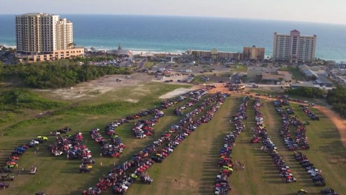 Last year, about 1,500 Jeeps attended the Florida Jeep Jam, along with more than 5,000 Jeep owners and spectators.