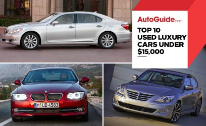 Top 10 Best Used Luxury Cars For $15,000