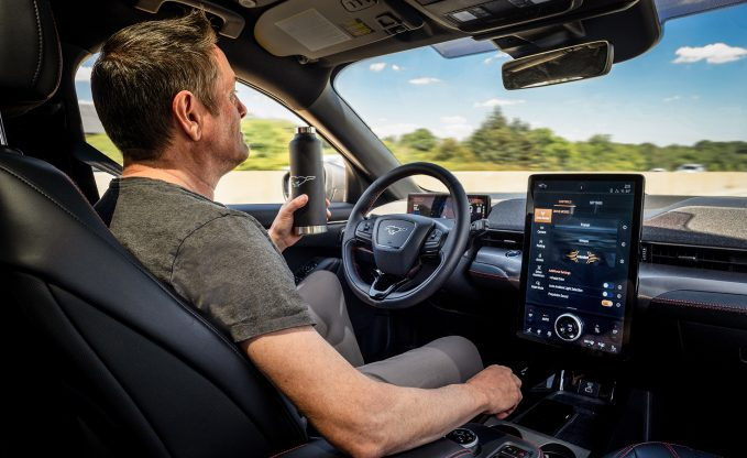 Ford Details Mustang Mach-E Hands-Free Driving System