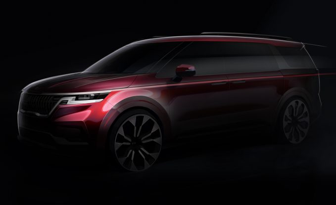 2021 Kia Sedona Will not be a Minivan but a 'Grand Utility Vehicle'