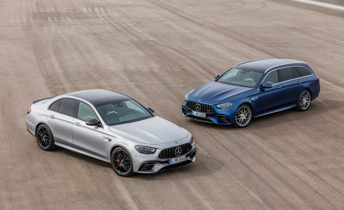 2021 Mercedes-AMG E63 S Sedan and Wagon Get New Looks, Same Great Engine