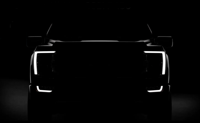 Ford Teases 2021 F-150 Front End, Full Reveal on June 25