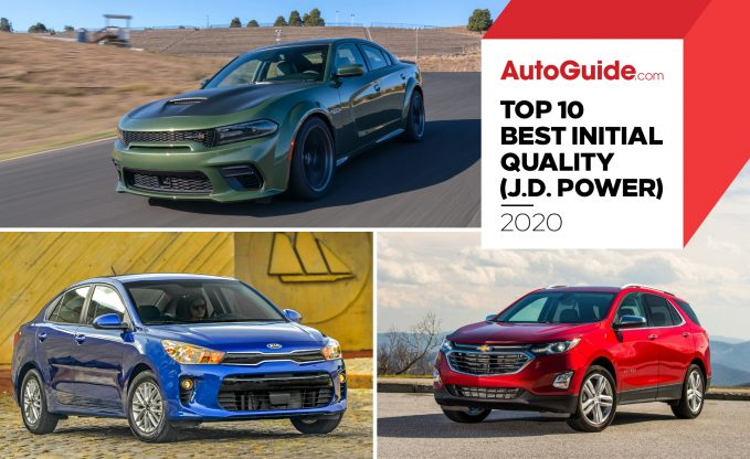 Top 10 Manufacturers for Initial Quality: J.D. Power 2020