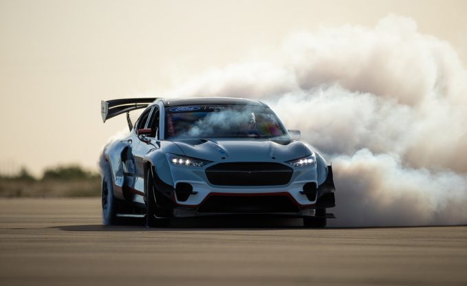 Ford Unleashes 1,400-Horsepower All-Electric Mustang Mach-E Prototype