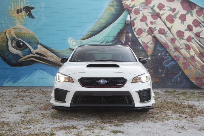 Donate for your chance to win this limited-edition Subaru WRX STI S209 giveaway.