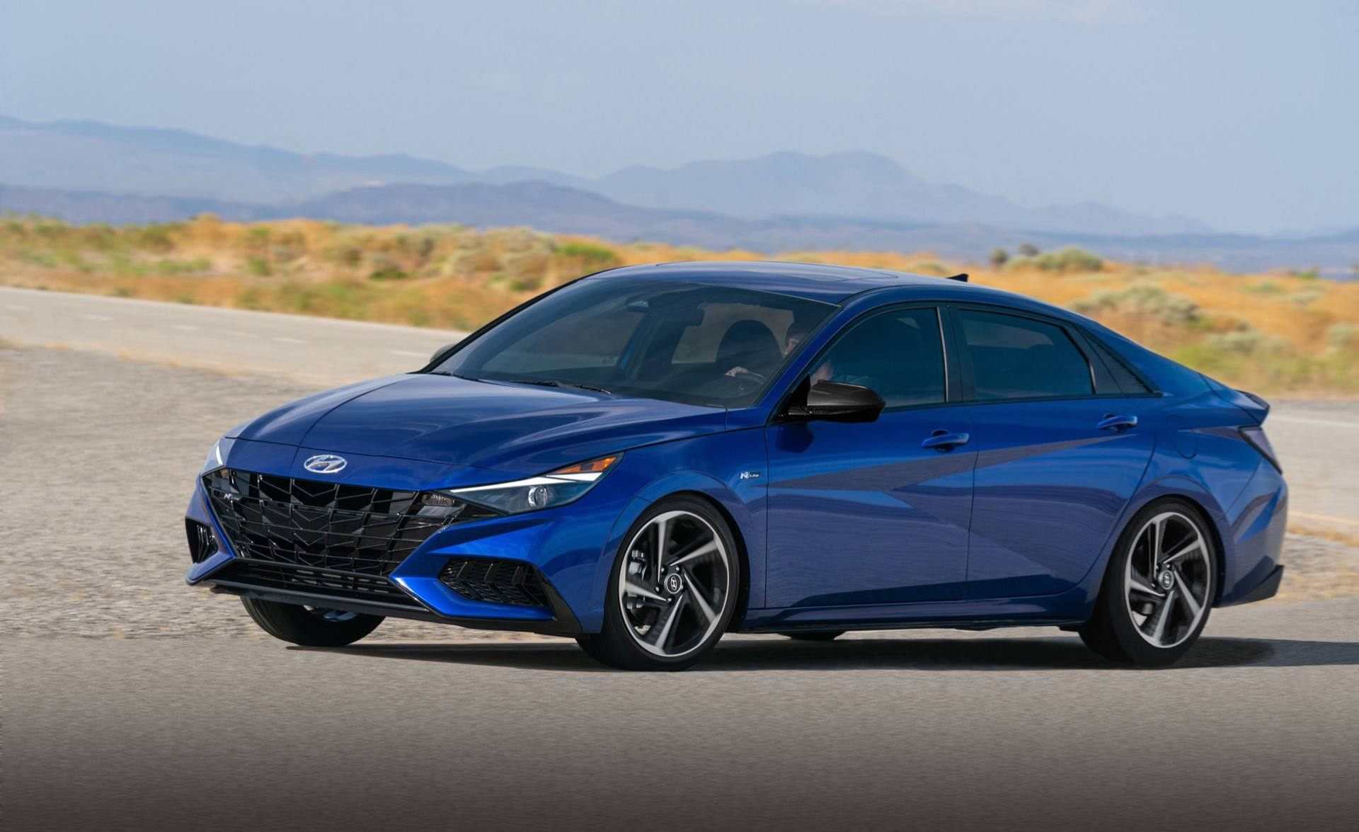 2021 hyundai elantra n line is an angular 201hp sport