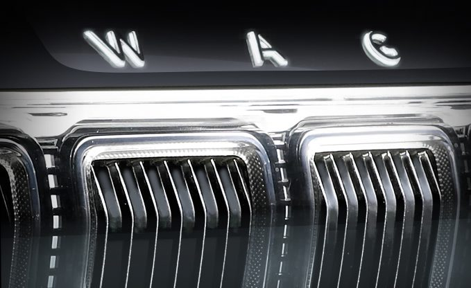 Jeep Teases 2022 Wagoneer Grille and Infotainment: Full Debut September 3