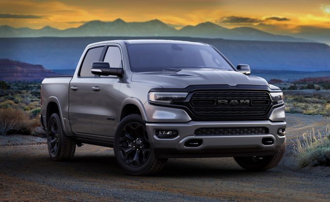 2021 Ram Pickups Add Limited Night Editions For Blacked-Out Style