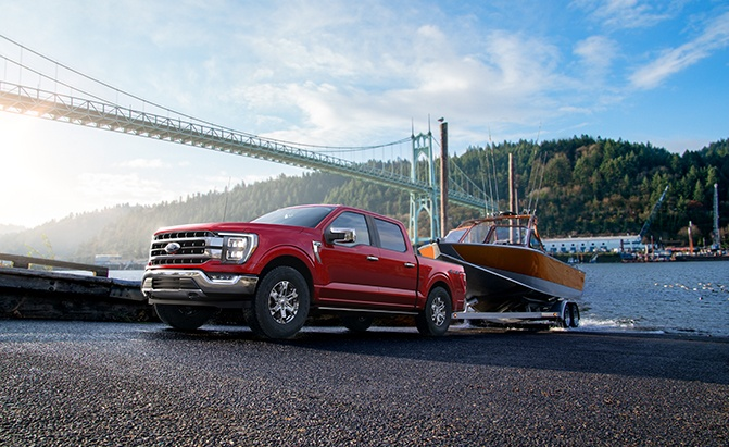 2021 Ford F-150 Hybrid Is An Electrified Torque Monster