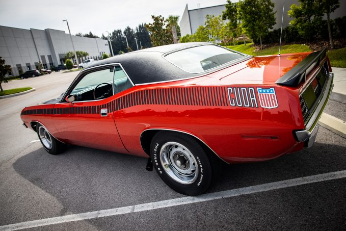 This single-production-year 1970 Plymouth AAR 'Cuda is a true collector car, one of only 2,724 ever produced.