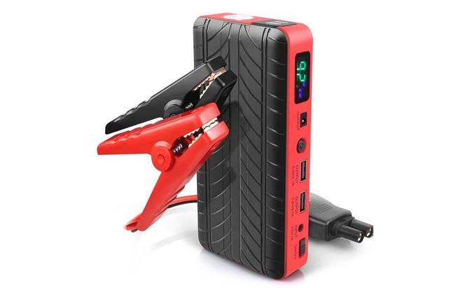XenonPro jump starters are lightweight and powered by premium lithium battery cells, with a reverse polarity-protection feature that ensures you won't fry anything if you accidentally switch up your battery terminals.