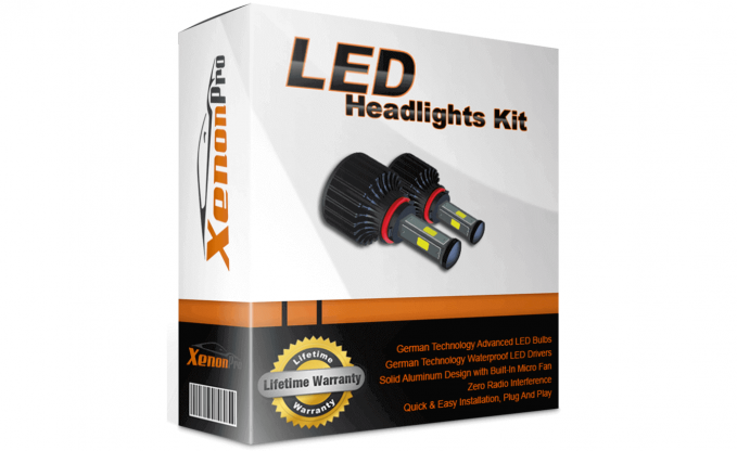XenonPro LED headlight bulbs are some of the best in the industry.