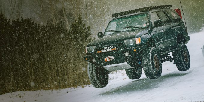 The MagnaFlow Overland Series is built to brave the elements, including snow.
