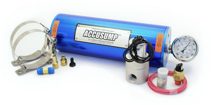 Canton Racing Products Accusump system