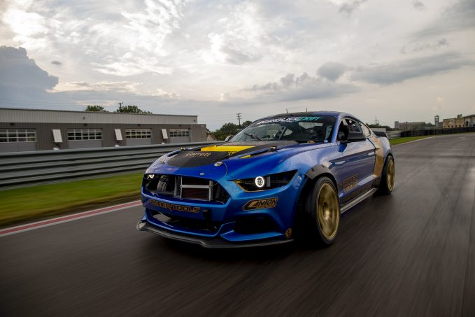 Canton Racing Products at work in a high-performance race car