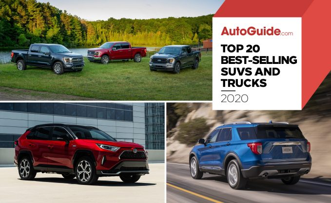 Top 20 Best-Selling SUVs and Trucks of 2020