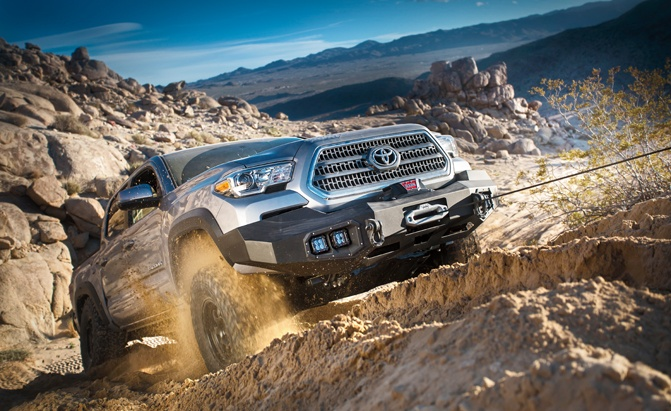 WARN Ascent bumpers with winch