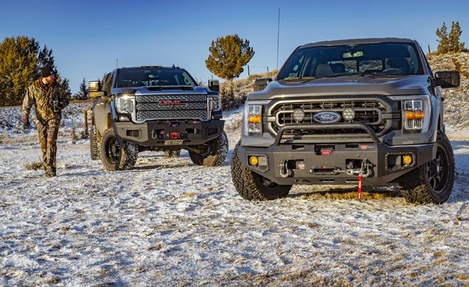 WARN Ascent bumpers Ford and GMC