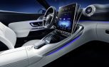 2022 Mercedes-AMG SL Interior Shows Off Hinged Touchscreen and Back Seats