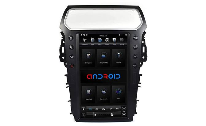 AutoStereo 13.6 inch Android System Vertical Touch Screen Ford Explorer 2013-2018
