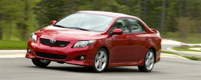 2009 toyota xrs compact sedan review car reviews. Black Bedroom Furniture Sets. Home Design Ideas