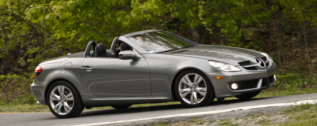 2009 Mercedes Benz Slk 350 Review Car Reviews