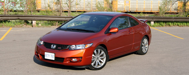 Used Honda Civic Coupe >> 2009 Honda Civic Si Review: Car Reviews