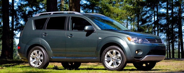 Suv With Third Row >> 2009 Mitsubishi Outlander XLS 4wd Review: Car Reviews