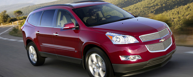 Used Chevy Traverse >> 2009 Chevrolet Traverse AWD-4DR-LTZ Review: Car Reviews