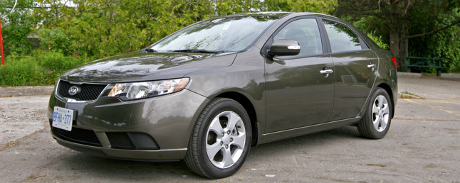 Exceptional 2010 Kia Forte: First Drive