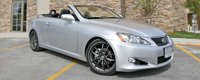 2010 Lexus IS250 C Review: Car Reviews