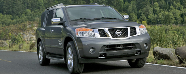 2010 nissan armada problems