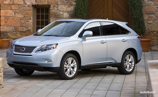 2010 Lexus RX450h Review