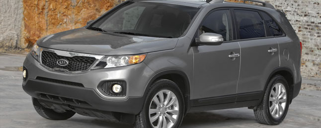Attractive 2011 Kia Sorento EX V6 Review