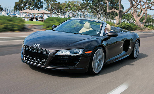 2011 Audi R8 Spyder 5.2 Review