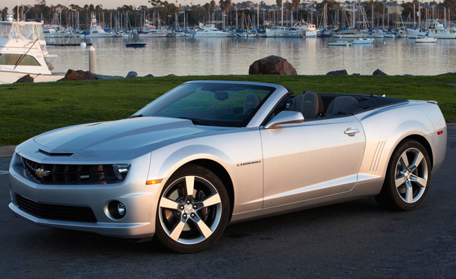 2011 Chevy Camaro SS Convertible Review