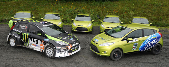 Ford Fiesta Rally Experience at the Team O'Neil Rally [Video ...