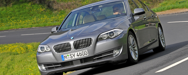 2011 Bmw 5 Series 535i Amp 550i Review Car Reviews