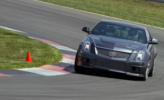 2011 Cadillac CTS-V Coupe Review - First Drive