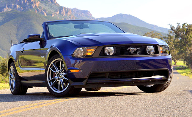 2011 Ford Mustang GT Convertible Review