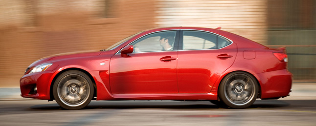 2011 Lexus IS F Review