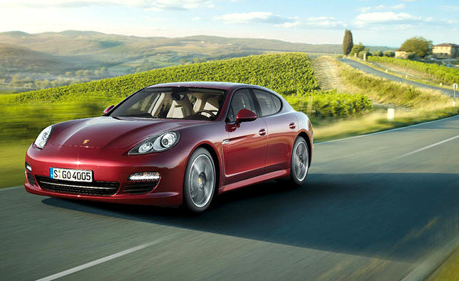 2011 Porsche Panamera, Panamera 4 Review - First Drive
