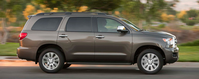 2017 Toyota Sequoia Limited Review