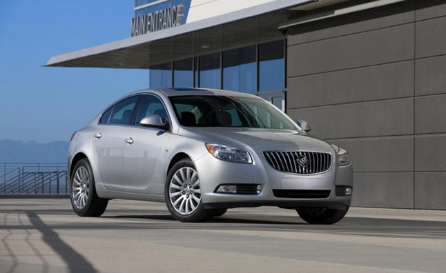 buick first test regal drive fd gs road